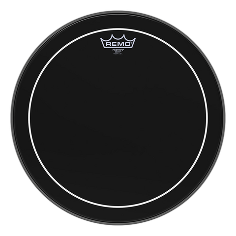Remo Pinstripe Ebony Drum Heads