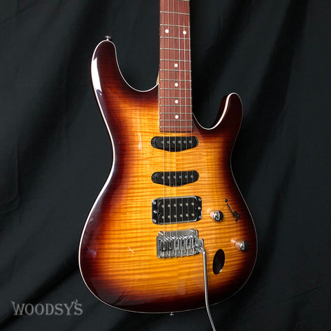 Ibanez SA260FM Flame Maple Top