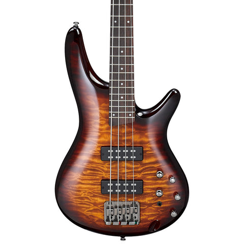 Ibanez SR400EQM Electric Bass, Dragon Eye Burst