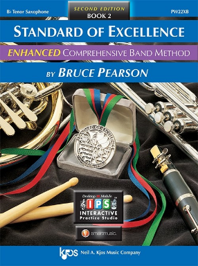 Standard of Excellence Comprehensive Band Method Book 2 - Tenor Saxophone