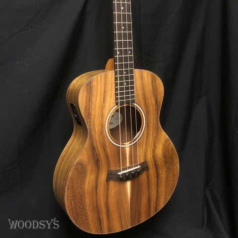 Taylor GS Mini Acoustic Electric Bass Guitar Koa