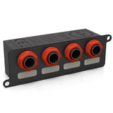 "Temple Audio 4-Way 1/4"" Jack Mini Module"