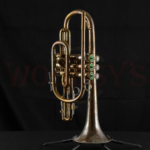 Vintage Olds Ambassador Cornet with Custom Antique Finish