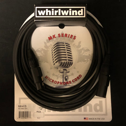 Whirlwind MK Series XLR Microphone Cable