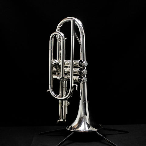 Used Blessing XL-CR Shepherd's Crook Cornet
