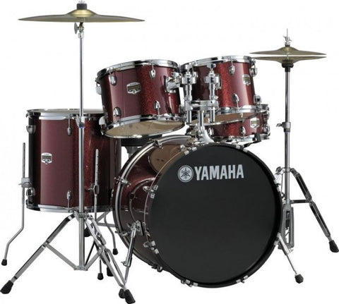 Yamaha GigMaker 5-Piece with Hardware & Cymbals