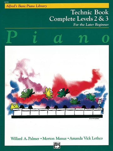 Alfred's Basic Piano Library for the Later Beginner - Technic Books