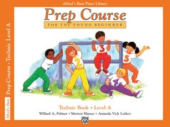 Alfred's Prep Course for the Young Beginner - Technic Books