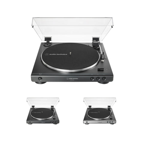 Audio Technica AT-LP60XUSB Fully Automatic Belt-Drive Turntable (USB & Analog)