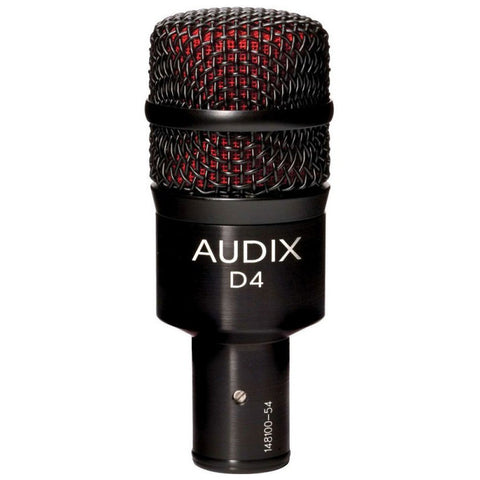 Audix D4 Dynamic Drum & Instrument Microphone