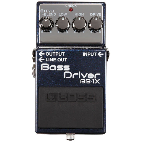 Boss BB1X Bass Driver Preamp Boost Effects Pedal
