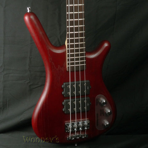 Warwick RockBass Corvette Double Buck Red