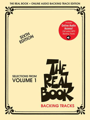 The Real Book - Selections from Volume 1 - Sixth Edition  Play-Along Audio Tracks