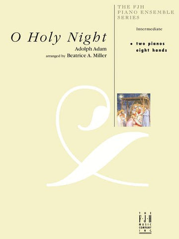 O Holy Night for 2 pianos, 8 hands