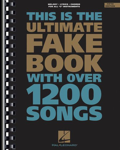 This is the Ultimate Fake Book - C Instruments