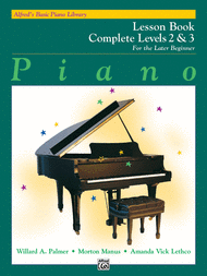 Alfred's Basic Piano Library for the Later Beginner - Lesson Books