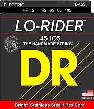 DR Lo-Rider Electric Bass Strings