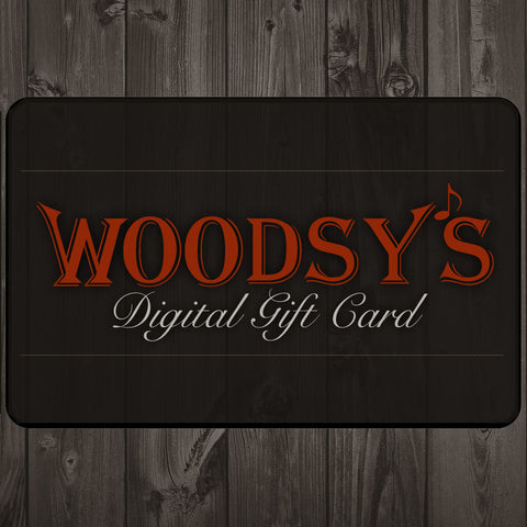 Woodsy's Music Gift Card