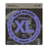 D'Addario EHR370 Half Round Medium Electric Guitar Strings