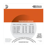 D'Addario EJ42 Phosphor Bronze Resophonic Guitar Strings