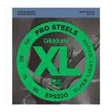 D'Addario EPS220 ProSteels Super Light (40-95) Long Scale Electric Bass Strings