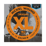 D'Addario EXL140-8 Nickel Wound 8 String Light Top/Heavy Bottom Electric Guitar Strings