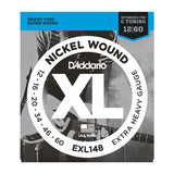 D'Addario EXL148 Nickel Wound Extra Heavy Electric Guitar Strings