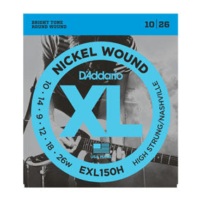 D'Addario EXL150H Nickel Wound High Strung / Nashville Tuning Electric Guitar Strings