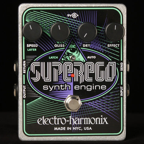 Electro Harmonix Super Ego Synthesizer Machine