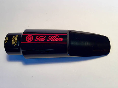 Ted Klum Florida Hard Rubber Tenor Saxophone Mouthpiece
