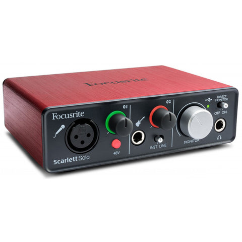 Focusrite Scarlett Solo USB Interface