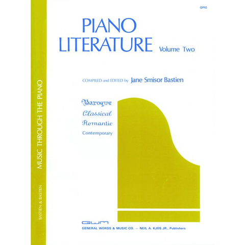 Piano Literature: Volume Two