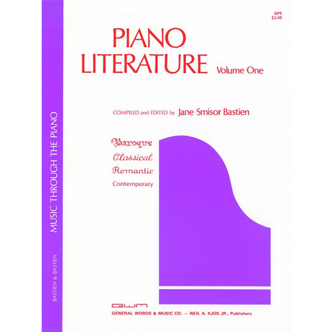 Piano Literature: Volume One