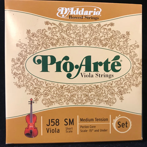 New Old Stock D'Addario Pro Arte Viola Strings