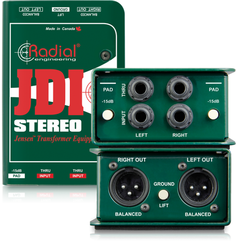 Radial JDI Stereo two channel DI
