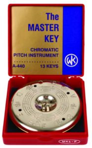 WM. Kratt Co. The Master Key Chromatic Pitch Instrument