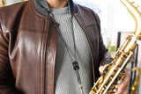 Boston Sax Shop Newbury Street Saxophone Neck Strap