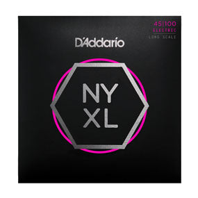 D'Addario NYXL45100 Regular Light Long Scale Electric Bass Strings