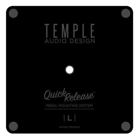 Temple Audio Quick Release Pedal Plates