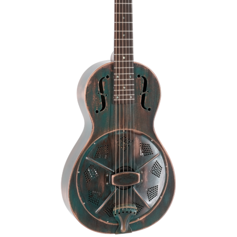 Recording King Swamp Dog Parlor Metal Body Resonator