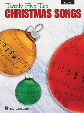 Twenty Five Christmas Songs for Flute with Play Along CD