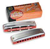 C.A. Seydel Söhne Blues Session Steel Diatonic Harmonica