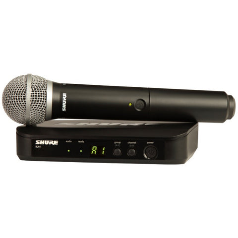 Shure BLX24/PG58 Handheld Wireless