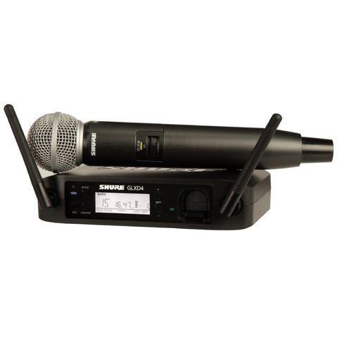 Shure GLXD24 Digital Wireless with SM58 Mic