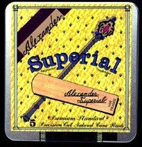Alexander Superial Baritone Saxophone Reeds