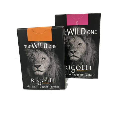 Rigotti The Wild One Jazz Alto Saxophone Reeds