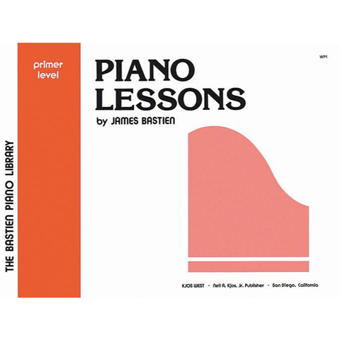 Bastien Piano Library Piano Lessons - Primer Level