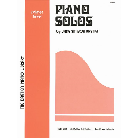 Bastien Piano Library Piano Solos - Primer Level