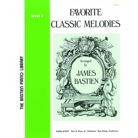 Favorite Classic Melodies, Level 3