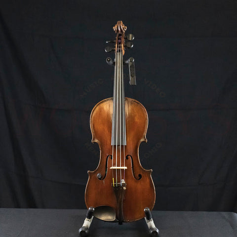 Vintage Jacques Boquay 18th Century Violin